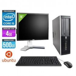 HP Elite 8200 SFF - Linux + Ecran 19''