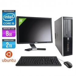 HP Elite 8200 SFF - Linux + Ecran 20''