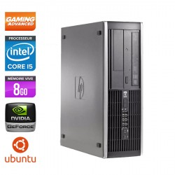 HP Elite 8200 SFF - Gamer - Ubuntu / Linux