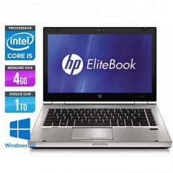 HP EliteBook 8470P - Windows 10