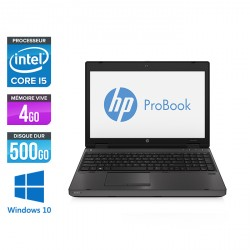 HP ProBook 6570B - Windows 10