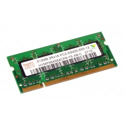 Hynix - SO-DIMM - 512 MB - DDR2 - HYMP564S64CP6-Y5 - PC2 5300S - 667 Mhz