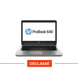 HP ProBook 640 G1 - Windows 10 - Déclassé