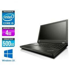 Lenovo ThinkPad T540P - Windows 10