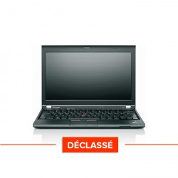 Lenovo ThinkPad X230 - Windows 10 - Déclassé