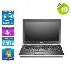 Lot de 10 Dell Latitude E6430