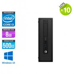 Lot de 10 HP ProDesk 600 G1 SFF - Windows 10