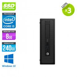 Lot de 3 HP ProDesk 600 G1 SFF - Windows 10