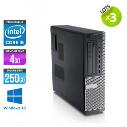 Lot de 3 Dell Optiplex 790 Desktop - Windows 10