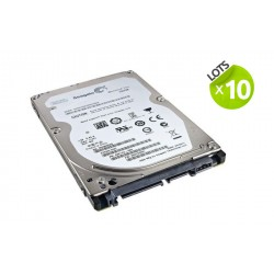 Lot de 10 disques durs 320Go- 2.5'' - Seagate Momentus Thin