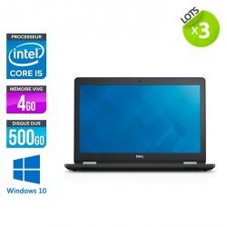 Lot de 3 Dell Latitude E5570 - Windows 10