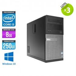 Lot de 3 Dell Optiplex 3010 Tour - Windows 10