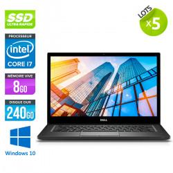 Lot de 5 Dell Latitude 7490 - Windows 10