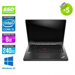 Lot de 5 Lenovo ThinkPad S1 Yoga - Windows 10