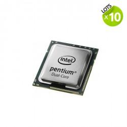 Lot de 10 Processeurs - Intel Pentium G630 - 2.7 Ghz - 3 Mo - LGA 1155