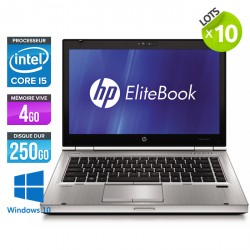 Lot de 10 HP EliteBook 8470P - Windows 10