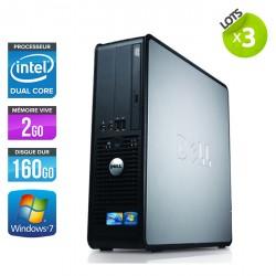 Lot de 3 Dell 380 SFF