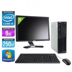 Lenovo ThinkCentre M91P SFF + Ecran 20''