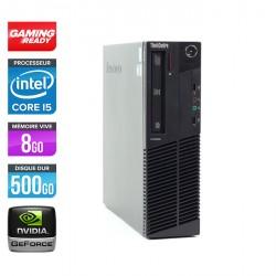 Lenovo ThinkCentre M91P SFF - Gamer