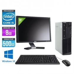 Lenovo ThinkCentre M92P SFF - Windows 10 + Ecran 20''