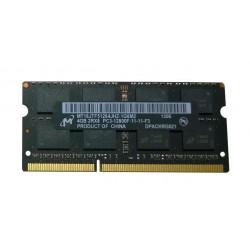 Barrette RAM SO-DIMM Micron - 4 Go - DDR3 - 1600MHz - 1G6M2