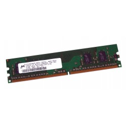 Micron - DIMM - MT4HTF6464AY-667E1 - 512 MB - PC2-5300U - DDR2