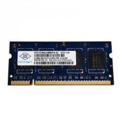 Nanya - SO-DIMM - 512 MB - DDR2 -  PC2 5300S - 667 Mhz - NT512T64UH8B0FN-3C