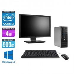 "HP ProDesk 400 G3 SFF - Windows 10 - Ecran 22"""