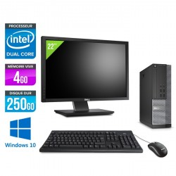 Dell Optiplex 7020 SFF - Windows 10 + Ecran 22''