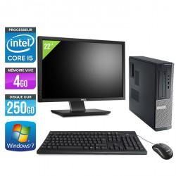 Dell Optiplex 390 Desktop + Ecran 22''