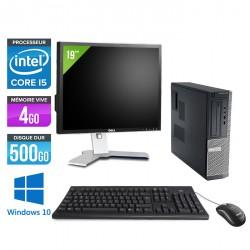 Dell Optiplex 390 Desktop Windows 10 + Ecran 19''