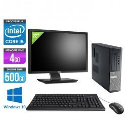 Dell Optiplex 390 Desktop Windows 10 + Ecran 22''