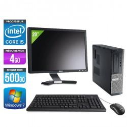 Dell Optiplex 390 Desktop + Ecran 20''