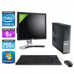 Dell Optiplex 390 Desktop + Ecran 17''