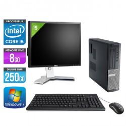 Dell Optiplex 390 Desktop + Ecran 19''