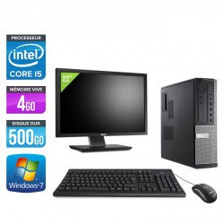 Dell Optiplex 7010 Desktop + Ecran 22''