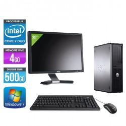 Dell Optiplex 780 Desktop + Ecran 20''