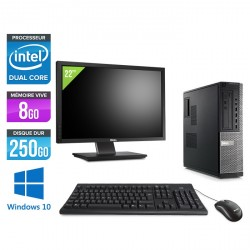 Dell Optiplex 790 Desktop - Windows 10 + Ecran 22''