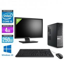 Dell Optiplex 790 Desktop - Windows 10 + Ecran 22''