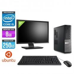 Dell Optiplex 790 Desktop - Ubuntu / Linux + Ecran 22''