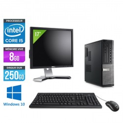 Dell Optiplex 790 Desktop - Windows 10 + Ecran 17''