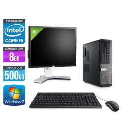 Dell Optiplex 790 Desktop + Ecran 19''