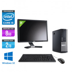 """Dell Optiplex 9010 SFF - Windows 10 + Ecran 20"""""""