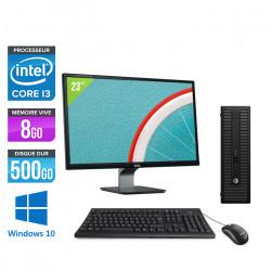 "HP ProDesk 600 G1 SFF - Windows 10 + Écran 23"""