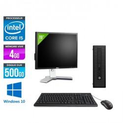 HP ProDesk 600 G2 SFF - Windows 10 + Écran 19''