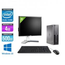 HP Elite 8100 SFF - Windows 10 + Ecran 19''