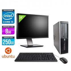 HP Elite 8200 SFF - Linux  + Ecran 24''