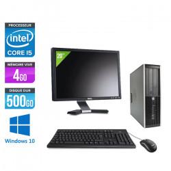 HP Elite 8300 SFF - Windows 10 + Ecran 20''