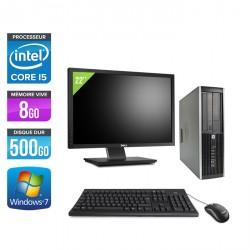 HP Elite 8300 SFF + Ecran 22''