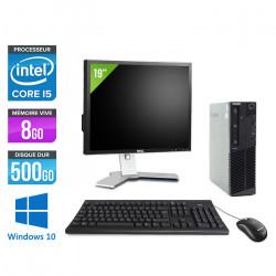 Lenovo ThinkCentre M83 SFF - Windows 10  + Ecran 19''